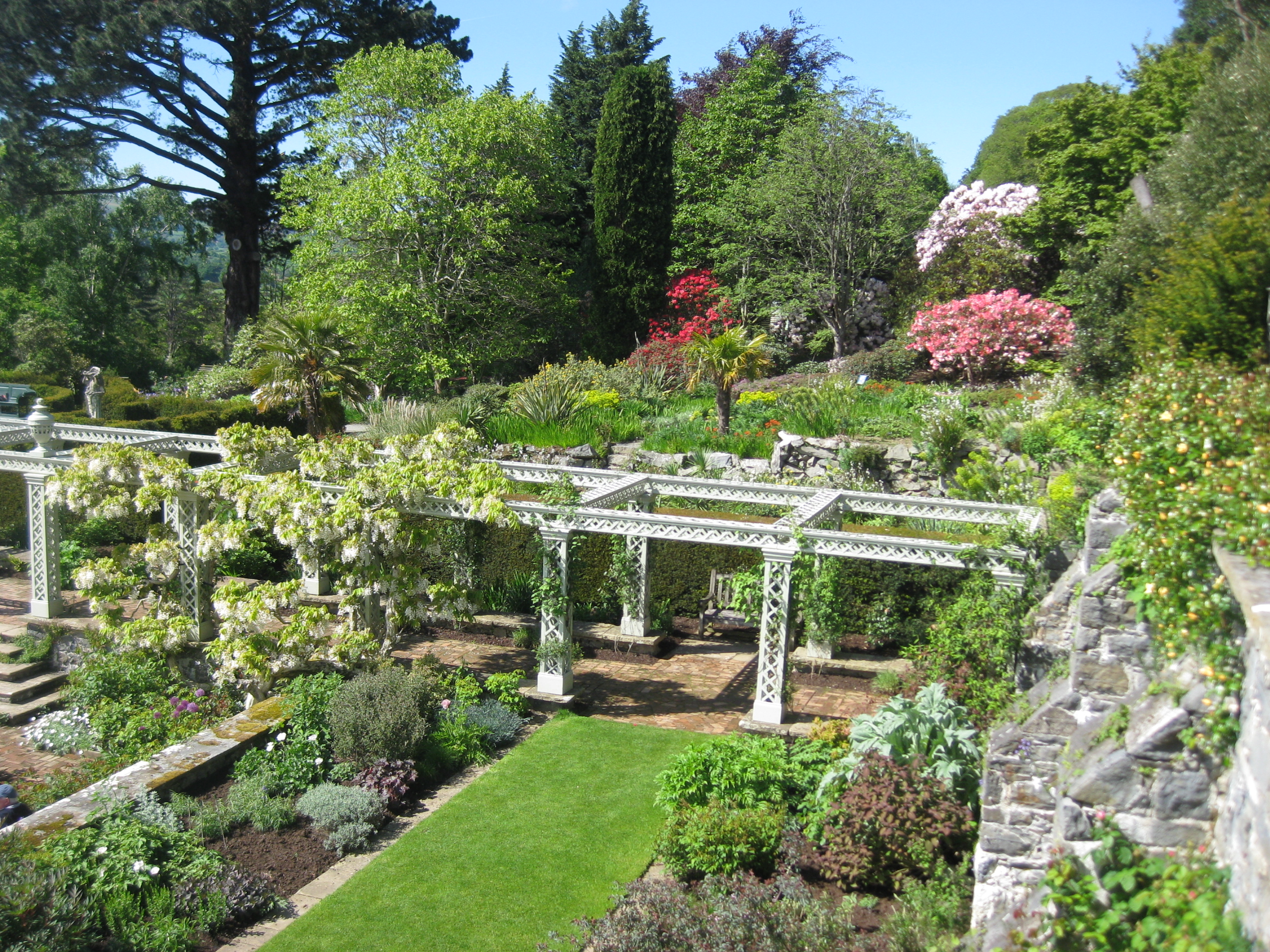 Bodnant the blooming garden for The landscape gardener
