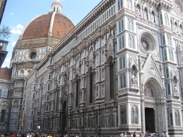 Cathedral and Brunelleschi's amazing dome.