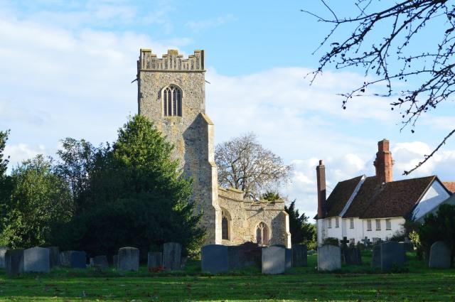 St. Bartholemew's Church. Groton.