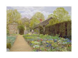 The pansy Garden, Mustead Wood. Thomas H. Hunn.