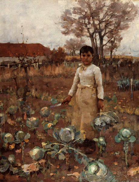 The Hind's Daughter. Sir James Guthrie