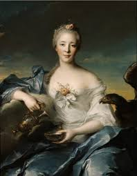 Madame de Coumartin as Hebe. Nattier 1753