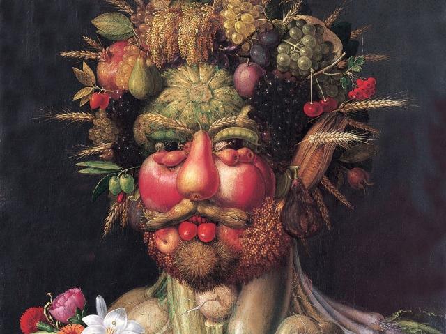 Arcimboldo. Portrait of Emperor Rudolph II