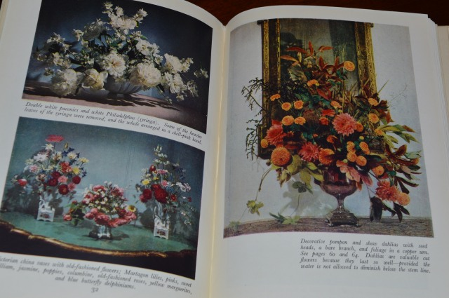 Page for How to do the Flowers. Constance Spry. 1953